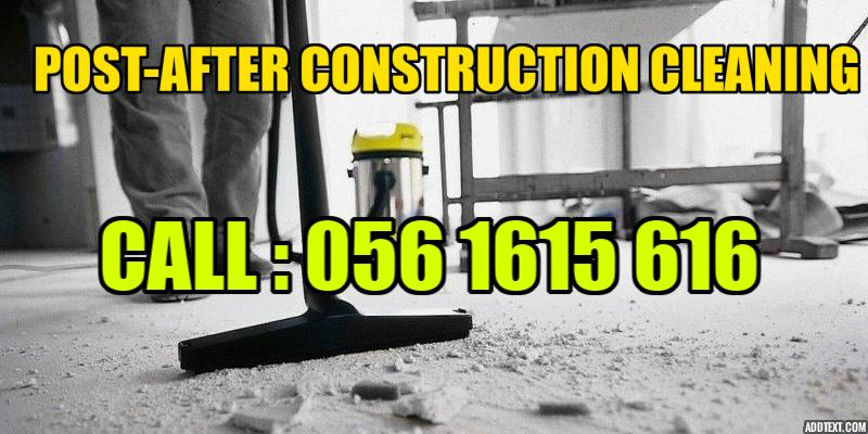 Post After Construction Cleaning Services